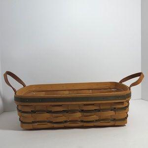 Longaberger Pantry Basket w/ Plastic Liner